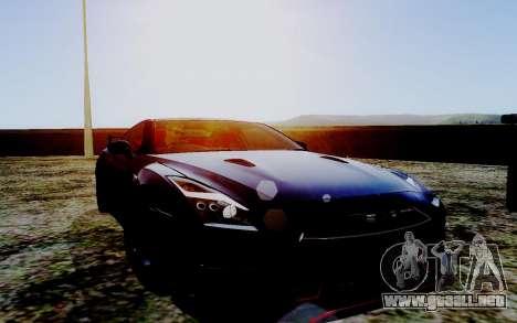 ENB Series HQ Graphics v2 para GTA San Andreas quinta pantalla