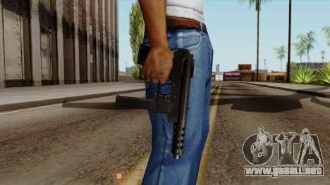 Original HD Tec9 para GTA San Andreas tercera pantalla