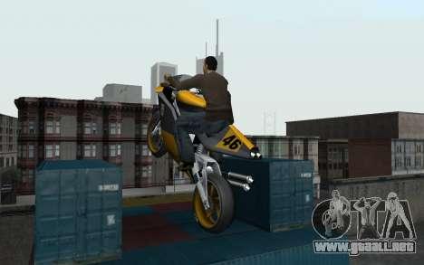 New Sky para GTA San Andreas quinta pantalla