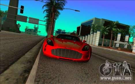 Aston Martin One-77 para GTA Vice City vista lateral izquierdo