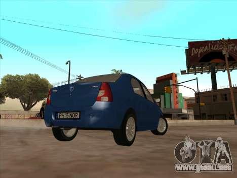 Dacia Logan Prestige para la visión correcta GTA San Andreas