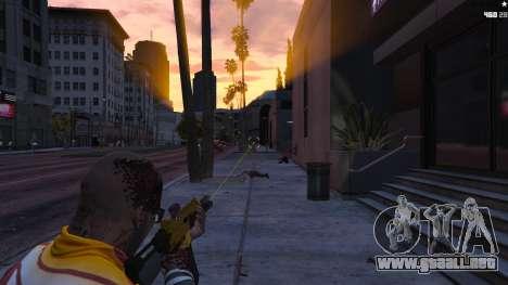 GTA 5 Mira láser segunda captura de pantalla