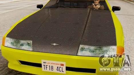 De vinilo para la Elegía - Sport para la visión correcta GTA San Andreas