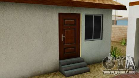 Big Smoke House para GTA San Andreas quinta pantalla