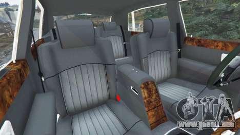 Rolls-Royce Phantom EWB v0.6 [Beta] para GTA 5