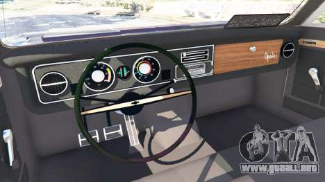 GTA 5 Chevrolet Opala Gran Luxo vista lateral derecha