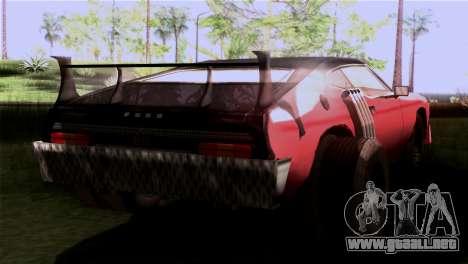 Ford Falcon XA Red Bat Mad Max 2 para GTA San Andreas left