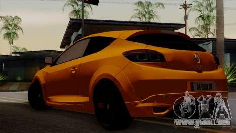 Renault Megane Sport HKNgarage para GTA San Andreas left