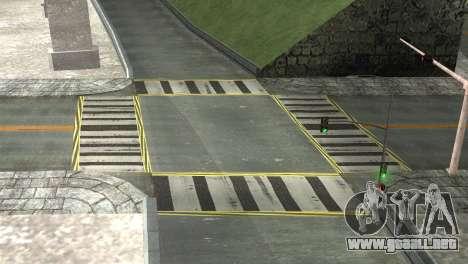 Roads Full Version LS-LV-SF para GTA San Andreas quinta pantalla