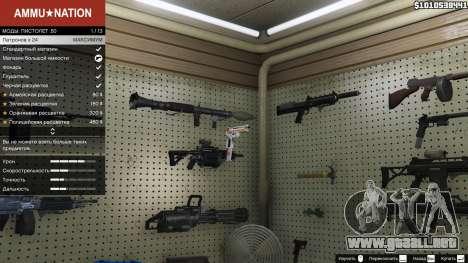 GTA 5 Asiimov Pistol.50 segunda captura de pantalla