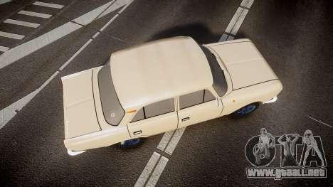 Moskvich-412 para GTA 4 visión correcta