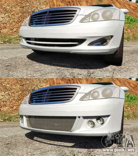 GTA 5 Motor Mercedes-Benz S500 W221 v0.3 [Alpha]