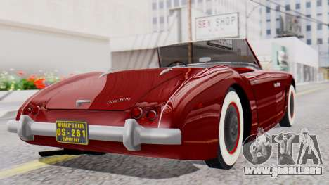 Ascot Bailey S200 from Mafia 2 para GTA San Andreas left