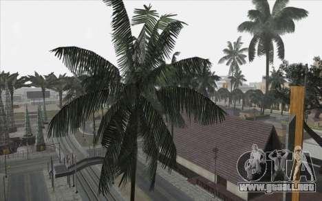Los árboles de WarFace para GTA San Andreas sucesivamente de pantalla