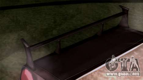 Ford Falcon XA Red Bat Mad Max 2 para la visión correcta GTA San Andreas