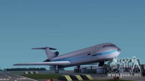 DMA Airtrain from GTA 3 v1.0 para GTA San Andreas vista posterior izquierda