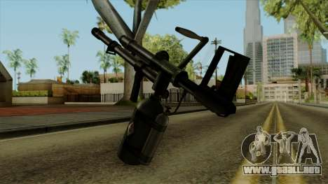 Original HD Flame Thrower para GTA San Andreas segunda pantalla