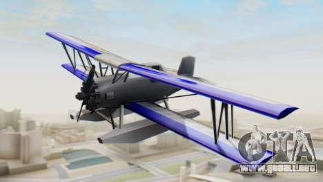 Un cropduster-Hidroavión v1.0 para GTA San Andreas