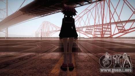 Natsumi para GTA San Andreas tercera pantalla