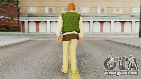 [GTA5] Families Member para GTA San Andreas tercera pantalla