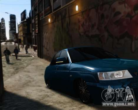 VAZ 2110 para GTA 4 vista interior