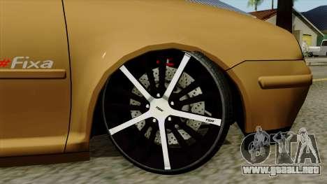 Volkswagen Golf 2004 Edit para GTA San Andreas vista posterior izquierda