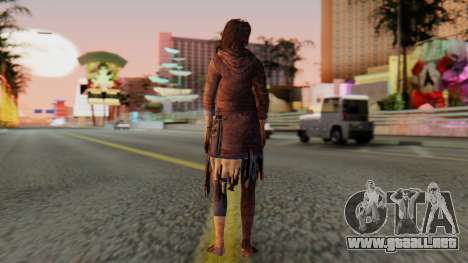 Born Child Girl para GTA San Andreas tercera pantalla