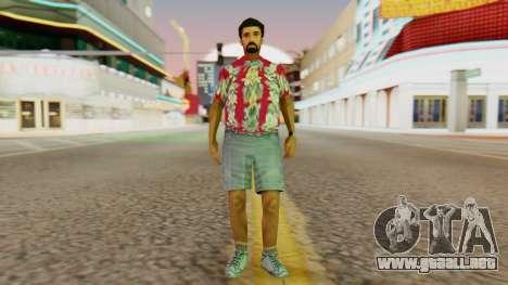 Turismo para GTA San Andreas segunda pantalla