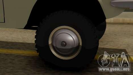 GAZ 24-95 para GTA San Andreas vista posterior izquierda