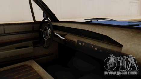 GTA 5 Declasse Voodoo Worn IVF para la visión correcta GTA San Andreas