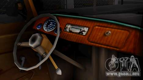 Smith V8 from Mafia 2 para la visión correcta GTA San Andreas