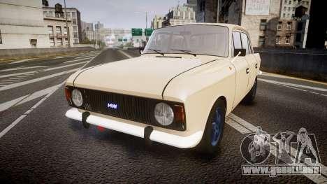 Moskvich-412 para GTA 4