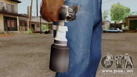 Original HD Camera para GTA San Andreas tercera pantalla