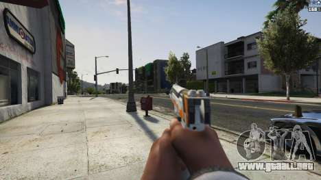 GTA 5 Asiimov Pistol.50 quinta captura de pantalla