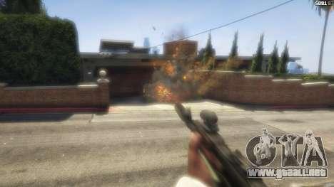 GTA 5 Battlefield 4 AK-12 décima captura de pantalla