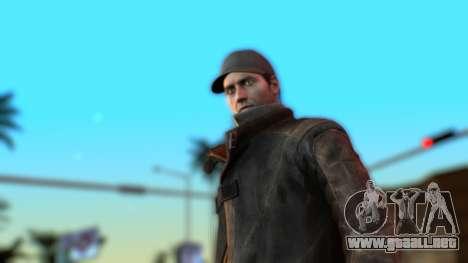 ELG ENB para GTA San Andreas segunda pantalla
