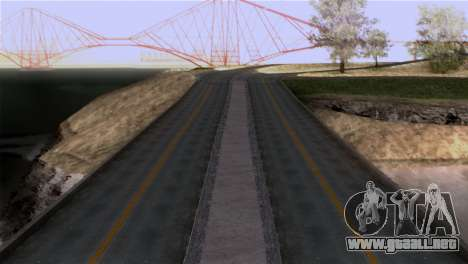 Roads Full Version LS-LV-SF para GTA San Andreas