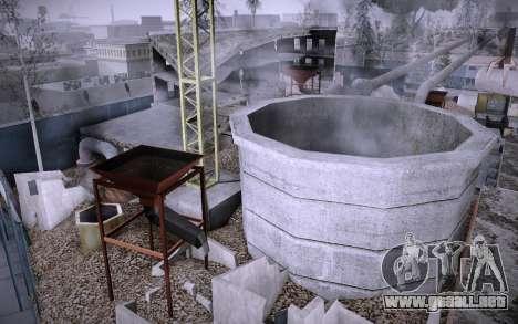 Edificio en la Calle Grove v0.1 Beta para GTA San Andreas sucesivamente de pantalla