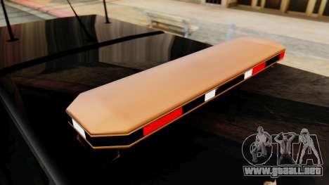 FBI Rancher with Lightbars para la visión correcta GTA San Andreas