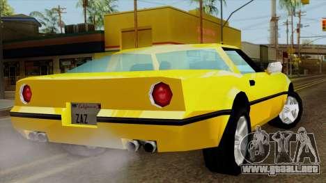 Banshee from Vice City Stories para GTA San Andreas left