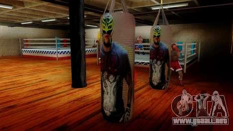 Pera con Rey Mysterio para GTA San Andreas tercera pantalla