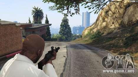 GTA 5 Battlefield 4 AK-12 tercera captura de pantalla