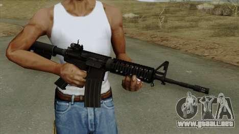 AR-15 Ironsight para GTA San Andreas tercera pantalla