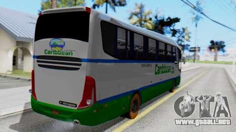Marcopolo Bus Caribbean Travel para GTA San Andreas left