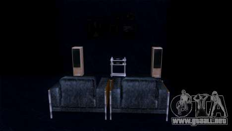 Retextured interior de la mansión de MADD Dogg para GTA San Andreas sexta pantalla