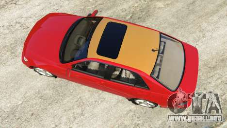 GTA 5 Lexus IS300 vista trasera