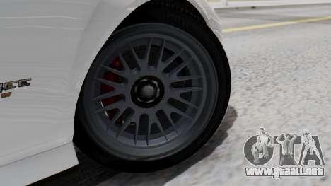 GTA 5 Banshee para GTA San Andreas vista posterior izquierda
