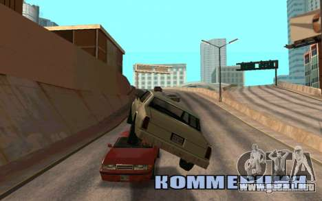 Veh Jump para GTA San Andreas segunda pantalla
