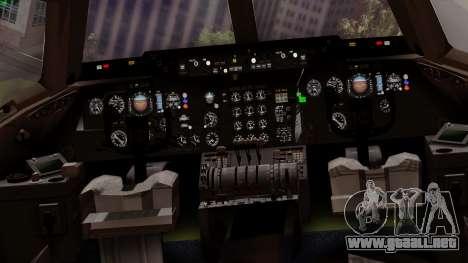 DC-10-30 Swissair para visión interna GTA San Andreas