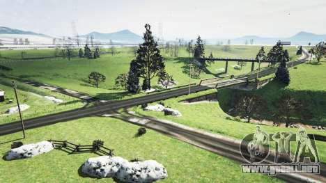 GTA 5 North Yankton sin nieve v1.1 cuarto captura de pantalla